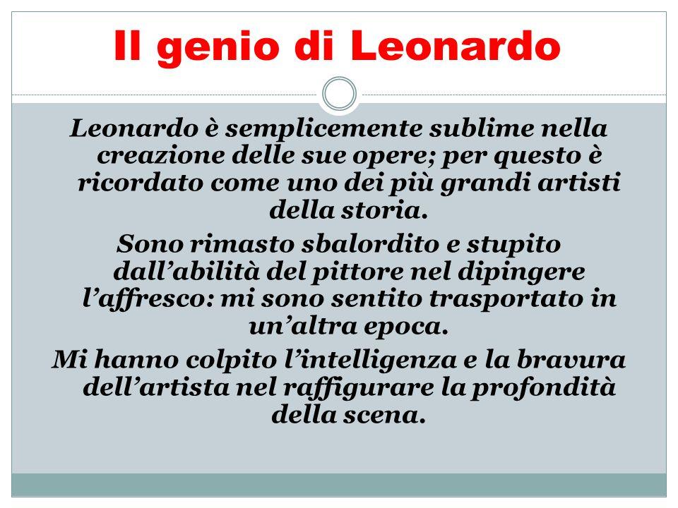 Il genio di Leonardo Leonardo è semplicemente sublime nella creazione delle sue opere; per questo è ricordato come uno dei più grandi artisti della st