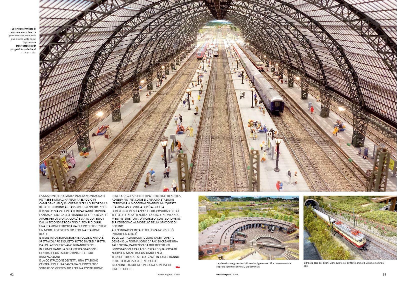 Splendore intricato di carattere esemplare: La grande stazione centrale può essere visto come ispirazione architettonica per progetti ferroviari reali
