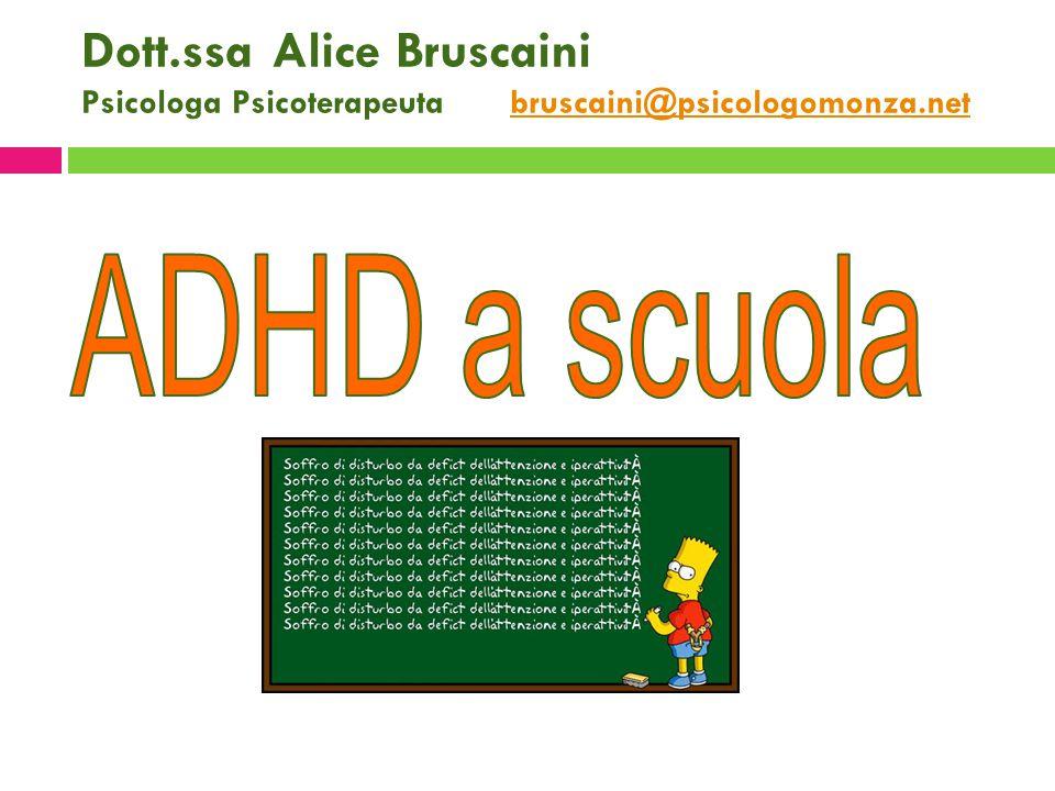 Dott.ssa Alice Bruscaini Psicologa Psicoterapeuta bruscaini@psicologomonza.netbruscaini@psicologomonza.net