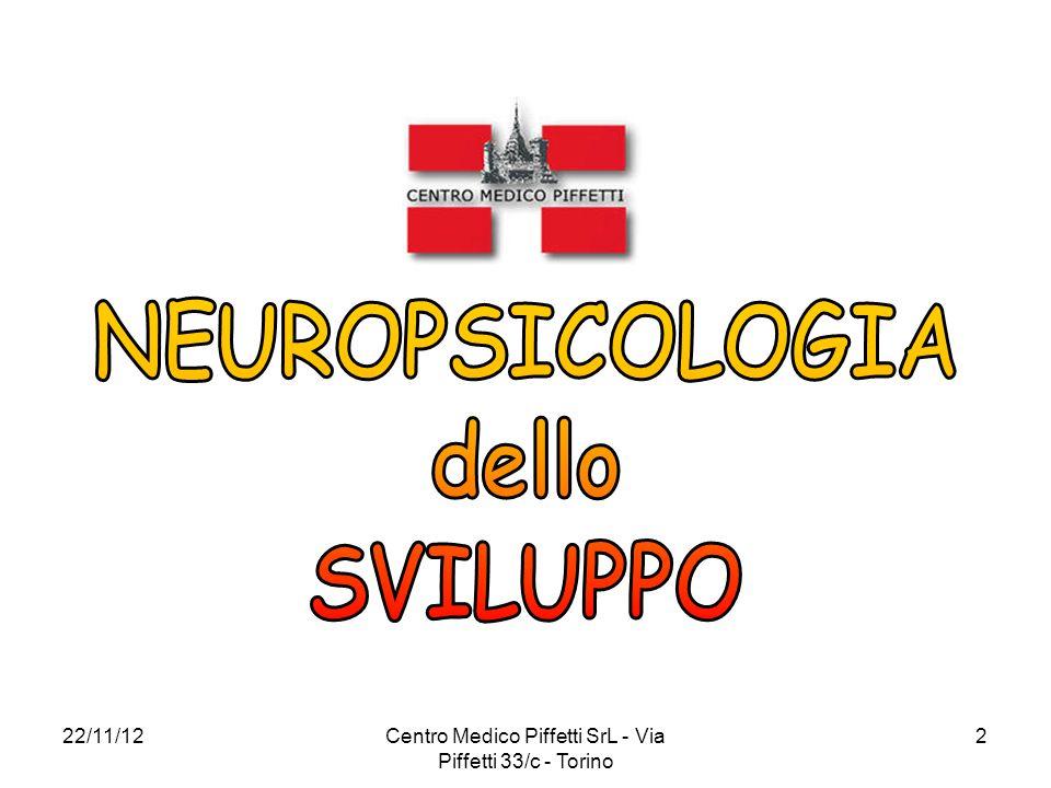 22/11/12Centro Medico Piffetti SrL - Via Piffetti 33/c - Torino 2