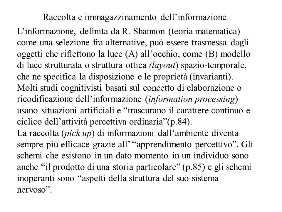 L'informazione, definita da R.