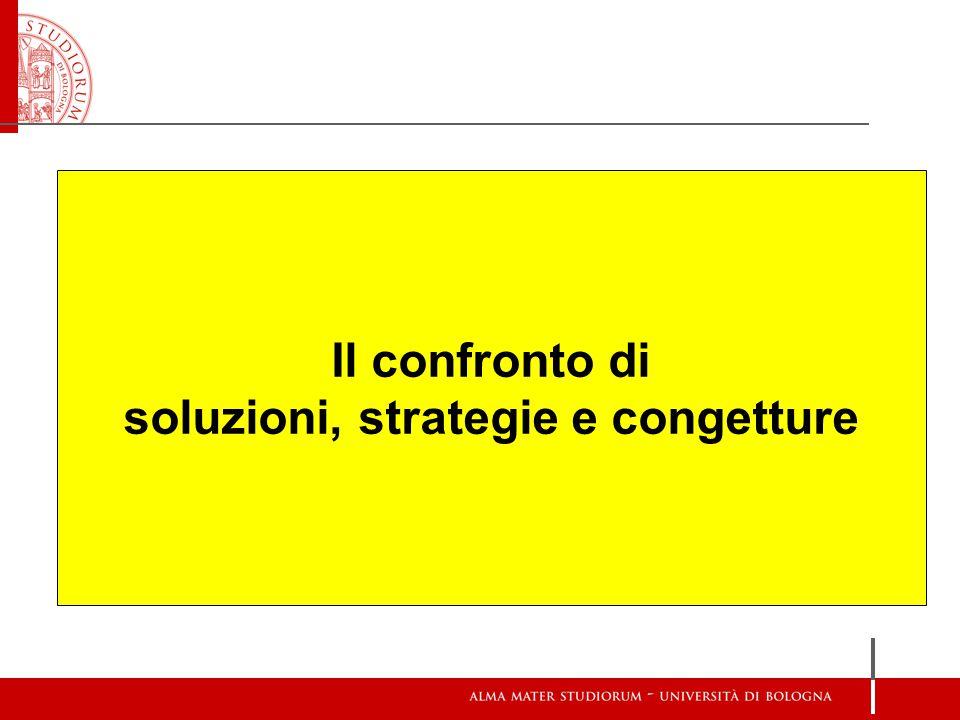 Il confronto di soluzioni, strategie e congetture