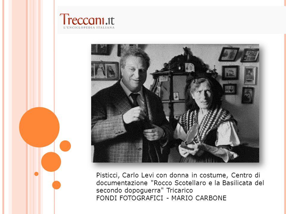 Pisticci, Carlo Levi con donna in costume, Centro di documentazione Rocco Scotellaro e la Basilicata del secondo dopoguerra Tricarico FONDI FOTOGRAFICI - MARIO CARBONE