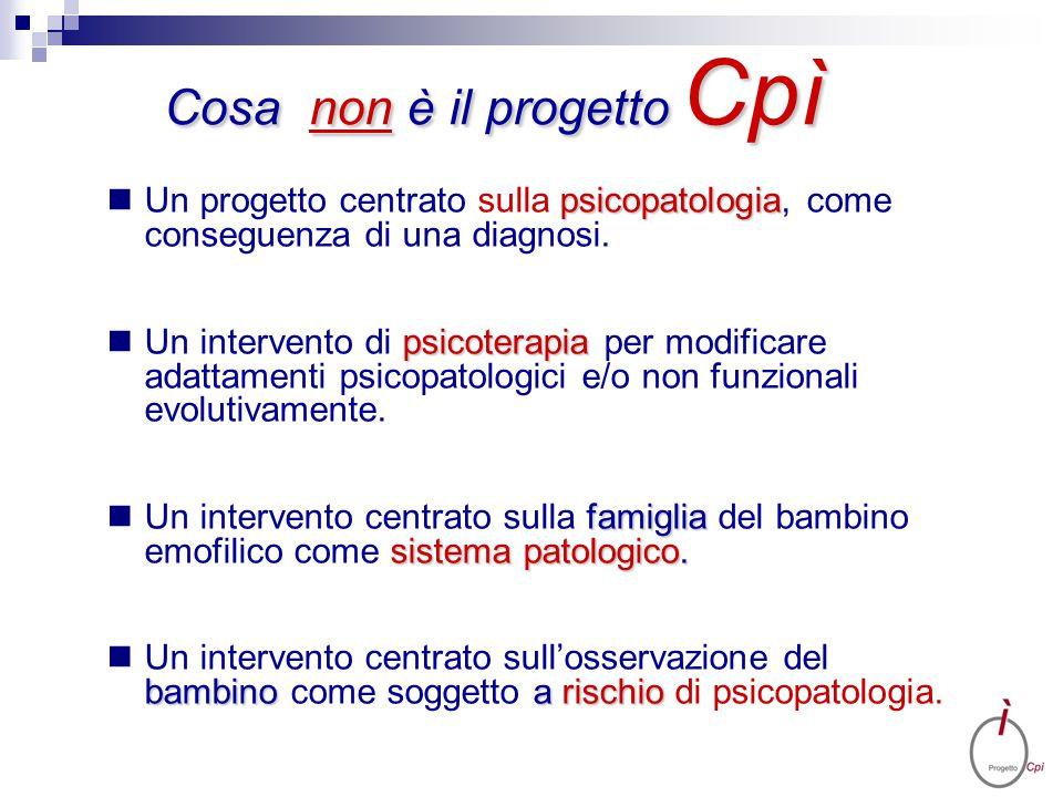 psicopatologia Un progetto centrato sulla psicopatologia, come conseguenza di una diagnosi. psicoterapia Un intervento di psicoterapia per modificare