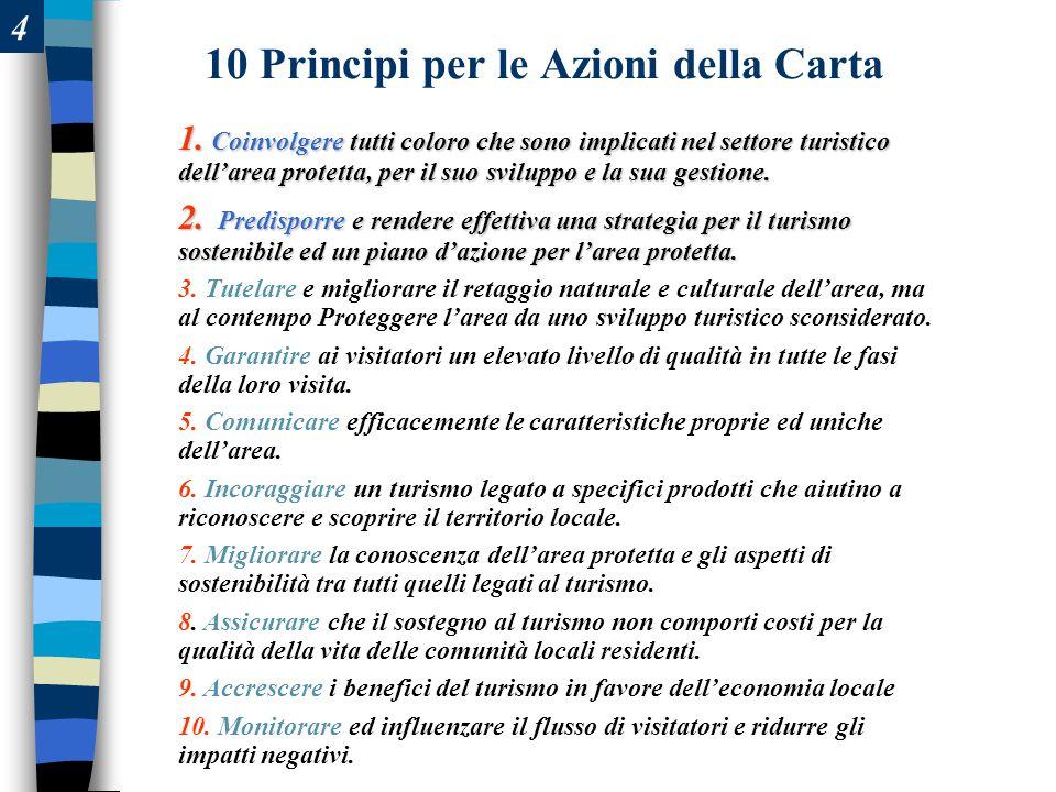 4 10 Principi per le Azioni della Carta 1.