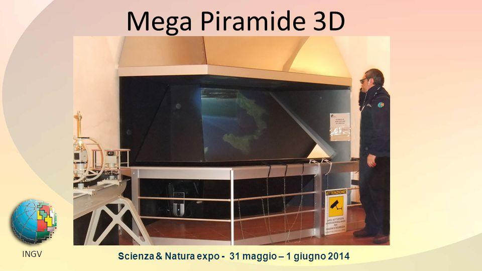 GRIGLIE DI PROFONDITA' INGV Scienza & Natura expo - 31 maggio – 1 giugno 2014