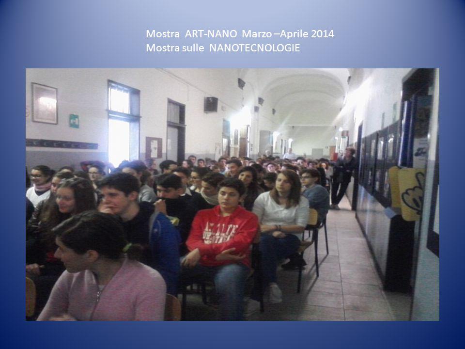 Mostra ART-NANO Marzo –Aprile 2014 Mostra sulle NANOTECNOLOGIE