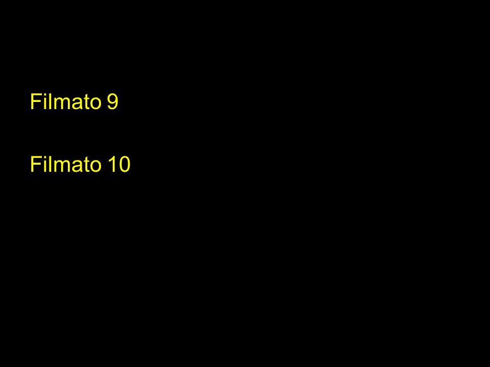 Filmato 9 Filmato 10