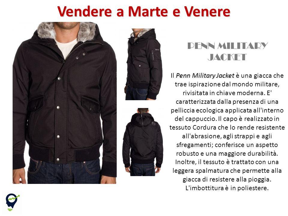 Il Penn Military Jacket è una giacca che trae ispirazione dal mondo militare, rivisitata in chiave moderna.