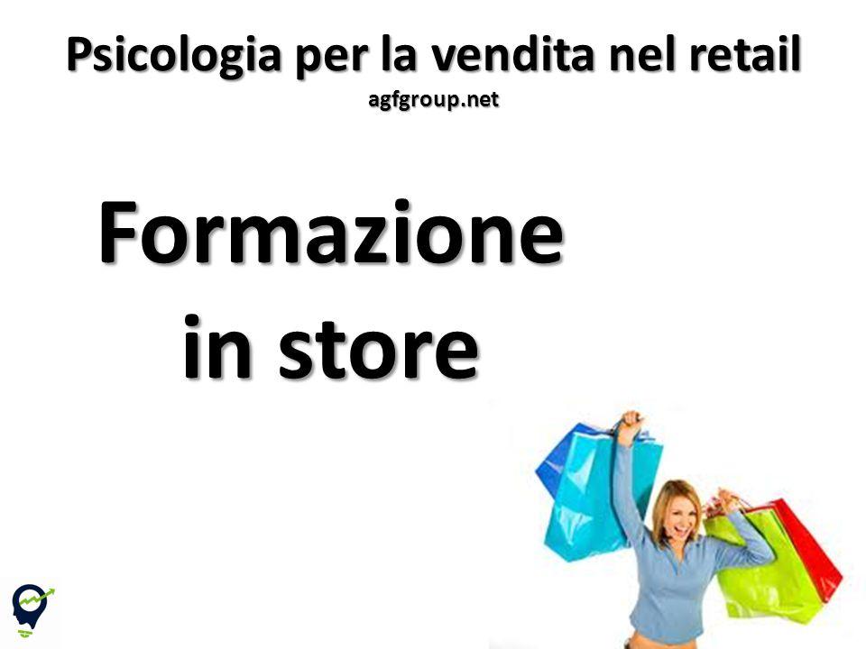 Formazione in store 7 Psicologia per la vendita nel retail agfgroup.net