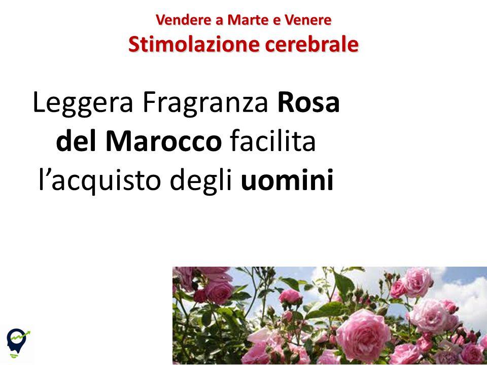 Leggera Fragranza Rosa del Marocco facilita l'acquisto degli uomini 70 Vendere a Marte e Venere Stimolazione cerebrale