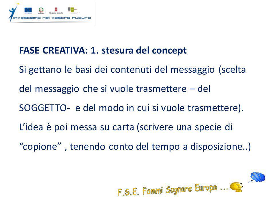FASE CREATIVA: 2.