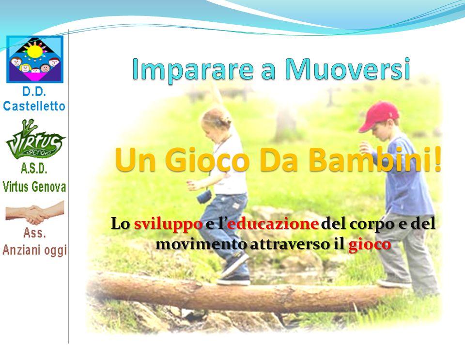 Lo sviluppo e l'educazione del corpo e del movimento attraverso il gioco Un Gioco Da Bambini!
