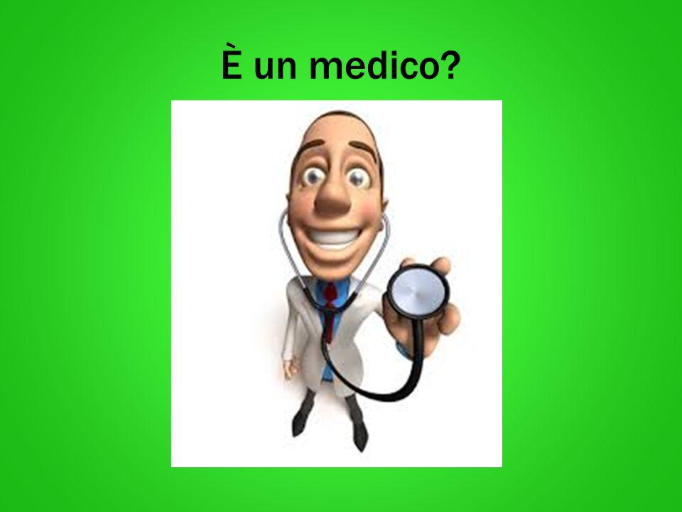 È un infermiere?