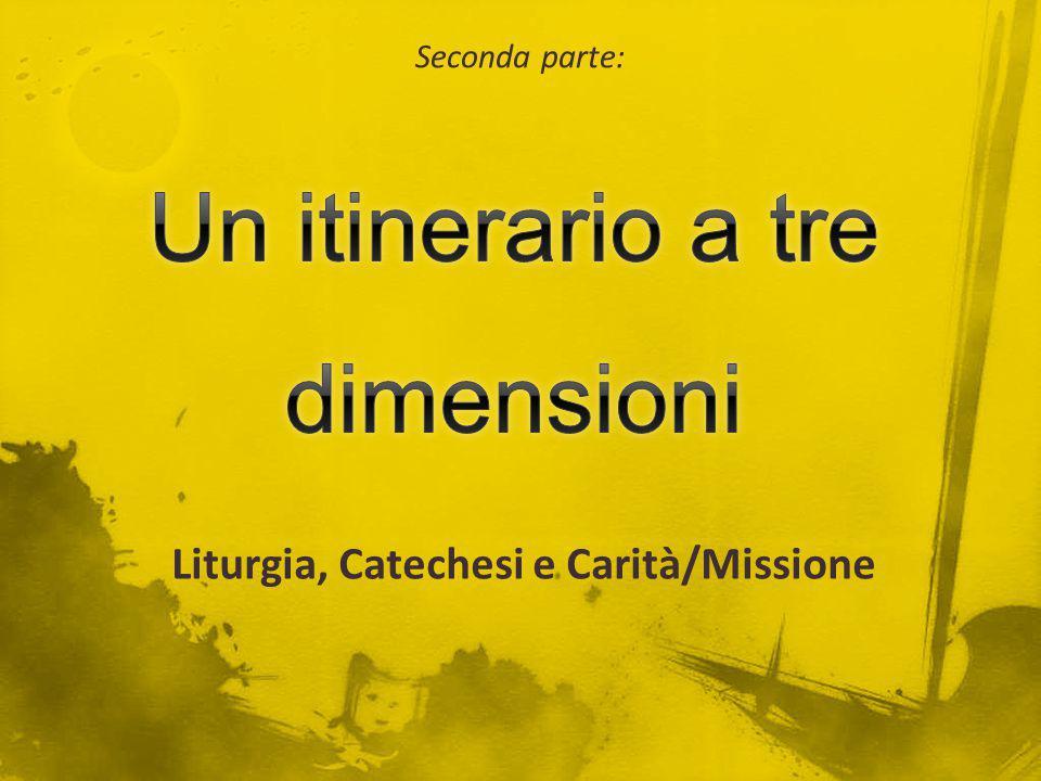 Liturgia, Catechesi e Carità/Missione Seconda parte: