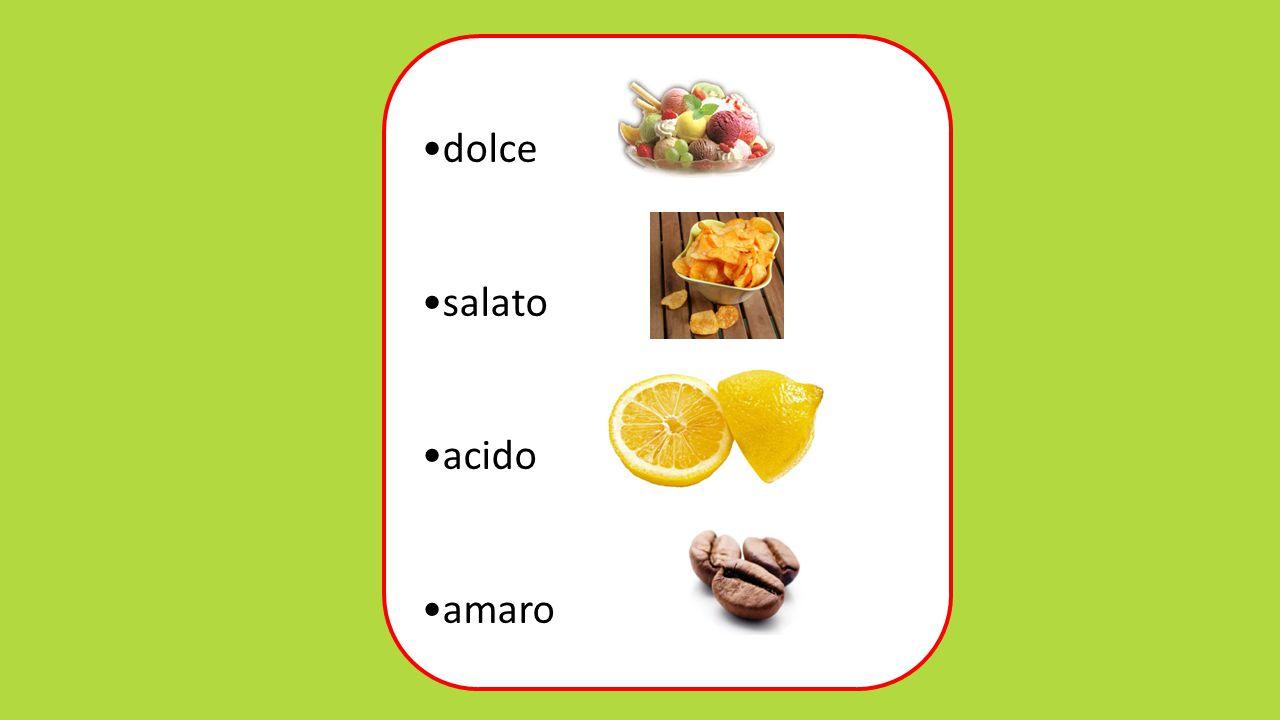 dolce salato acido amaro