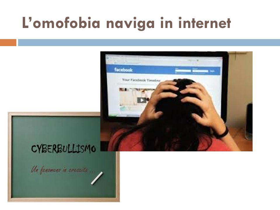 L'omofobia naviga in internet
