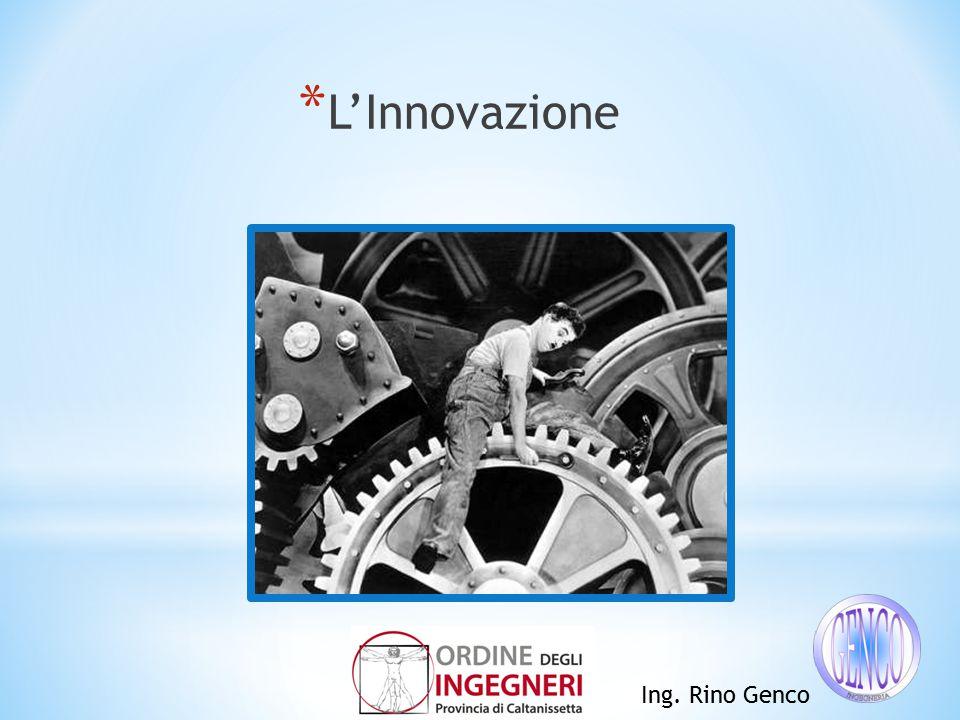 * L'Innovazione Ing. Rino Genco