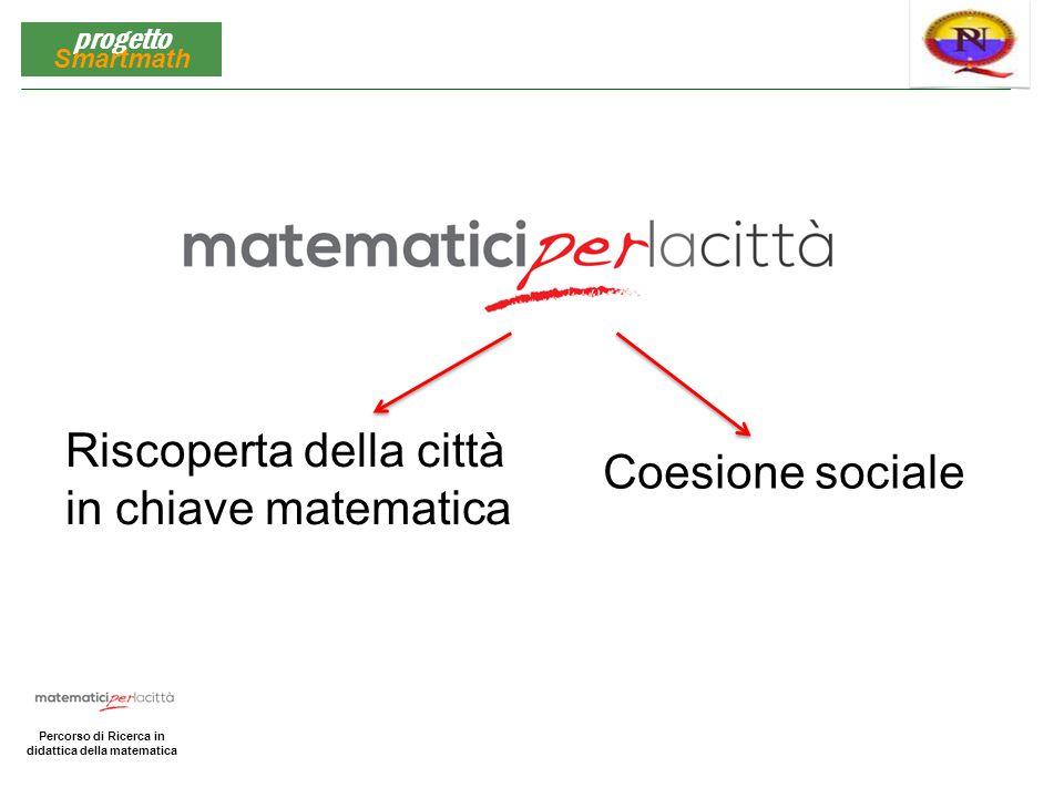 Matematica per la Città Percorso di Ricerca in didattica della matematica progetto Smartmath Dipartimento di Matematica «Renato Caccioppoli» dell'Università degli Studi di Napoli «Federico II»