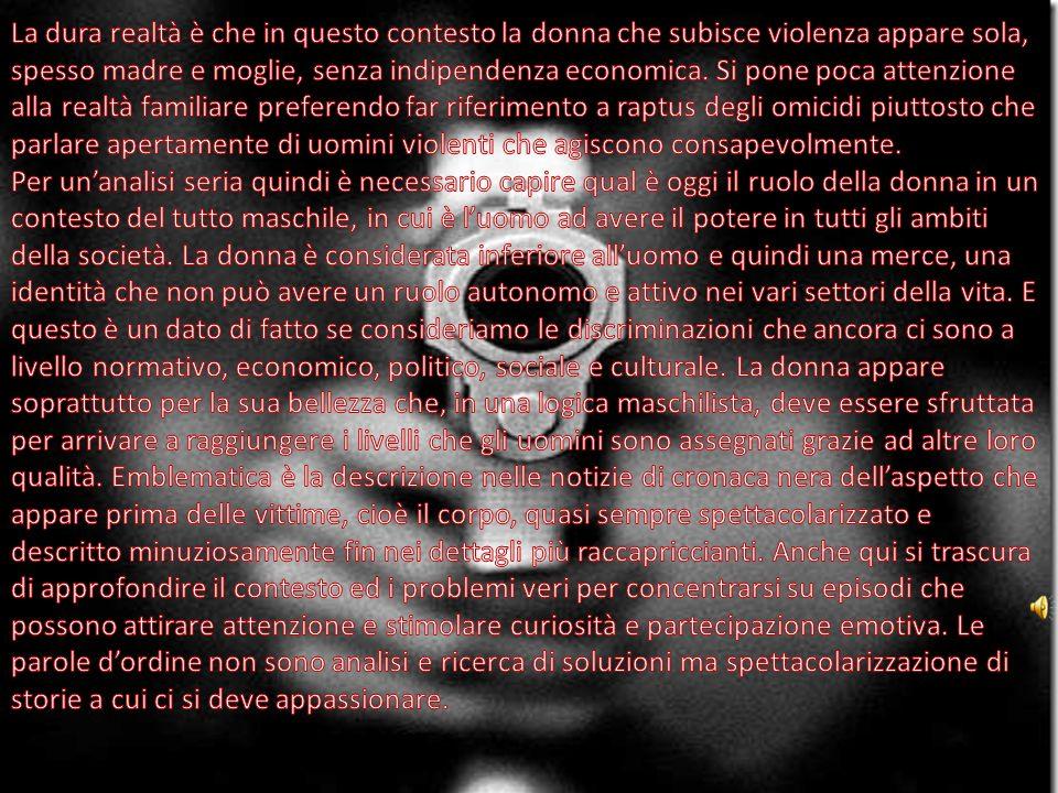 Femminicidio è un termine che tristemente e prepotentemente è entrato nella quotidianità.