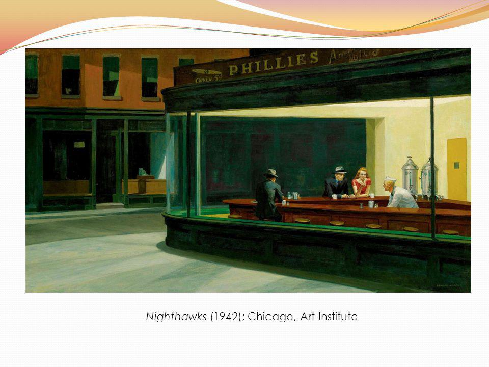 Nighthawks (1942); Chicago, Art Institute