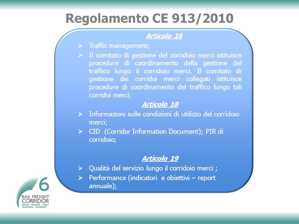 Regolamento CE 913/2010