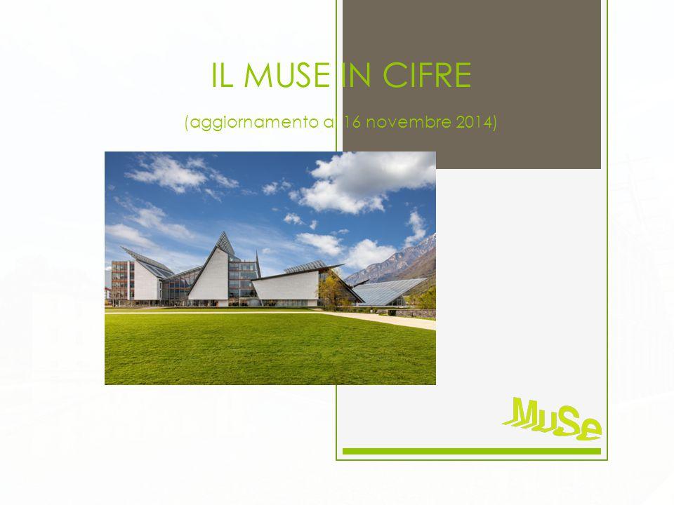 IL MUSE IN CIFRE (aggiornamento al 16 novembre 2014)
