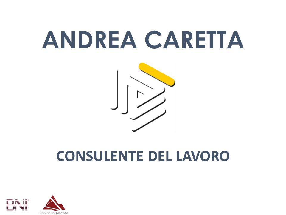 CONSULENTE DEL LAVORO ANDREA CARETTA