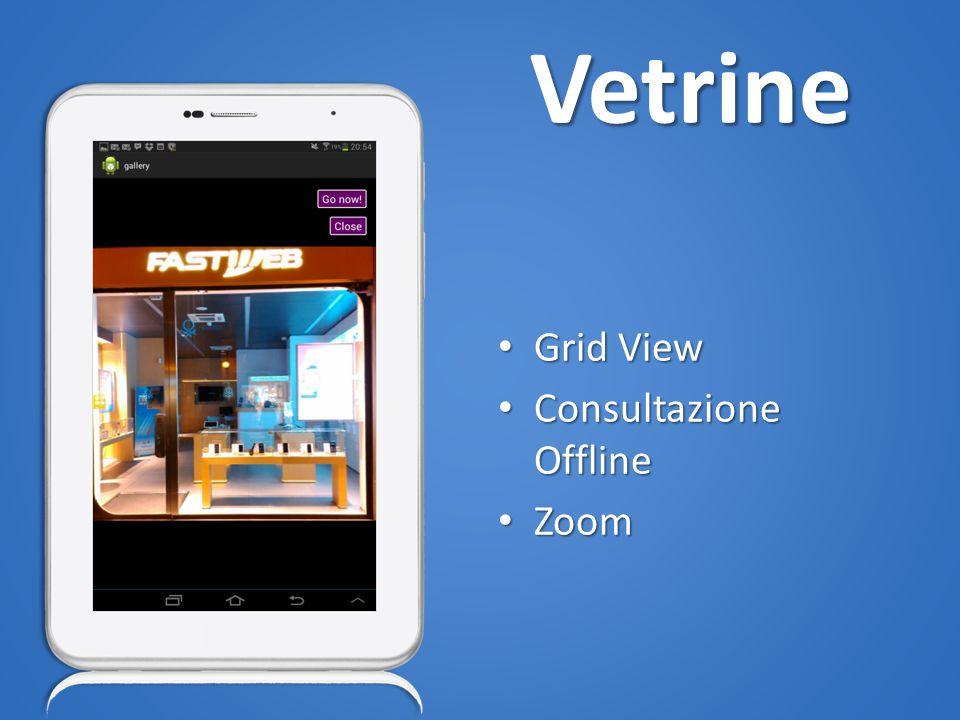 Vetrine Grid View Grid View Consultazione Offline Consultazione Offline Zoom Zoom