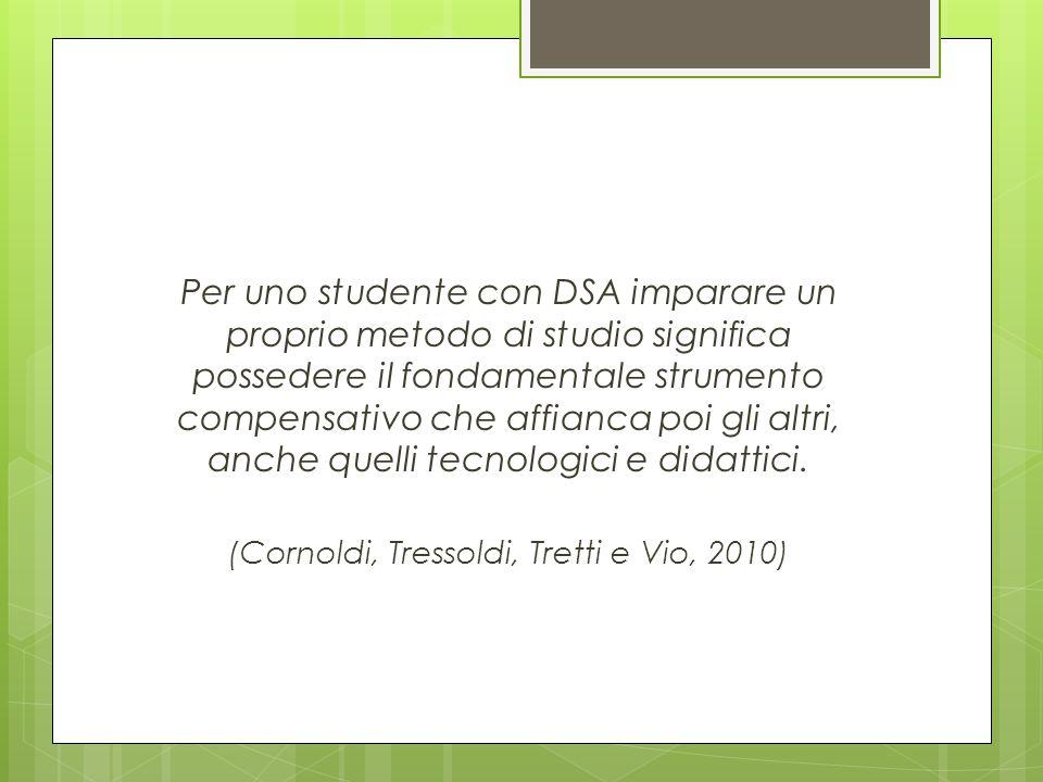 Per uno studente con DSA imparare un proprio metodo di studio significa possedere il fondamentale strumento compensativo che affianca poi gli altri, a