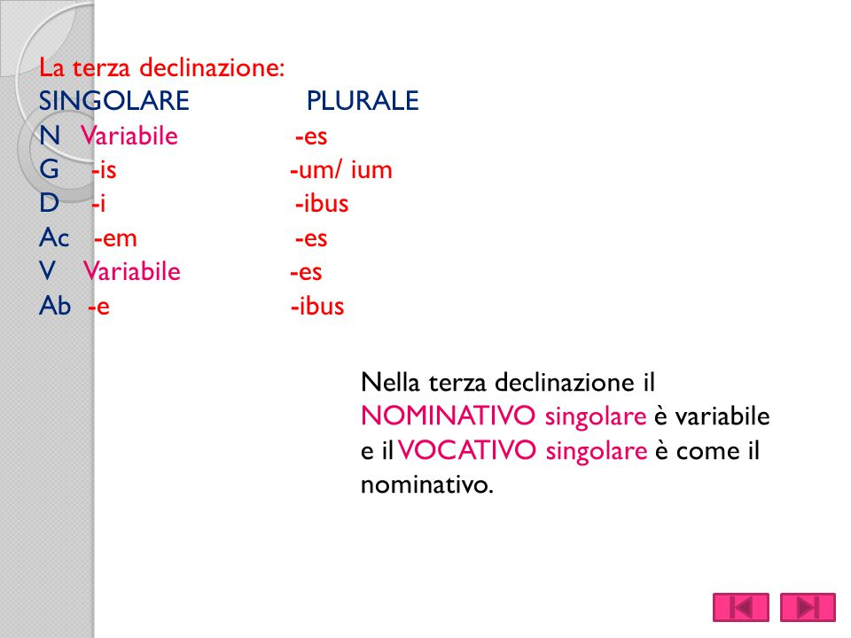 GLI AGGETTIVI DI PRIMA CLASSE.