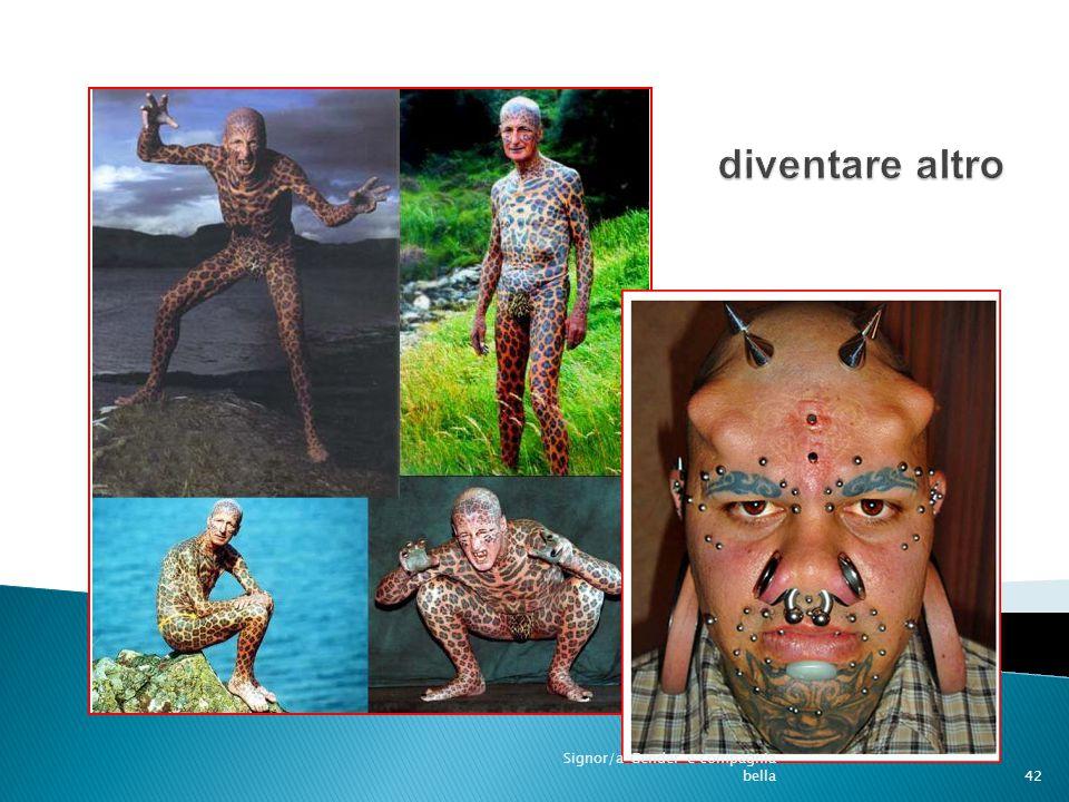 disformismo 42 Signor/a Gender e compagnia bella