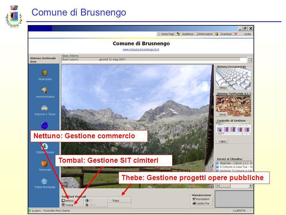 Comune di Brusnengo METODOLOGIA USATA Premialità e obbiettivi per il personale condivisi da tutti.