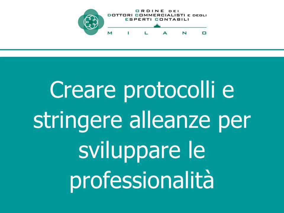 Creare protocolli e stringere alleanze per sviluppare le professionalità