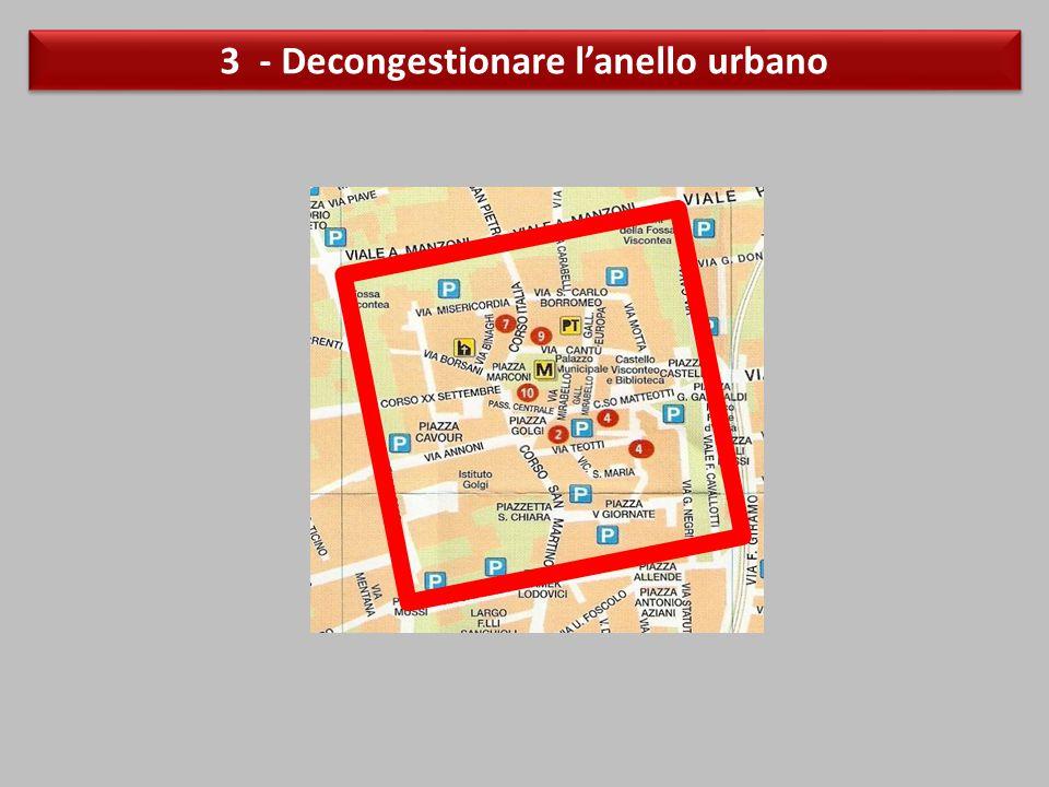 3 - Decongestionare l'anello urbano