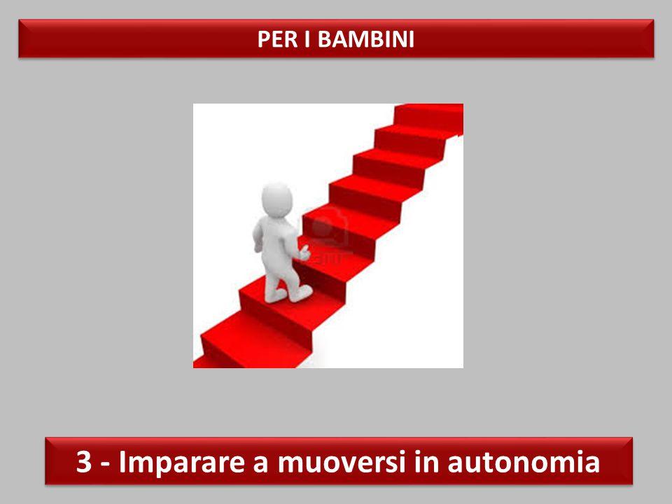 PER I BAMBINI 3 - Imparare a muoversi in autonomia