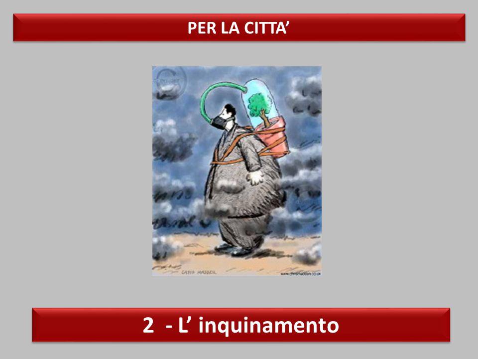 PER LA CITTA' 2 - L' inquinamento
