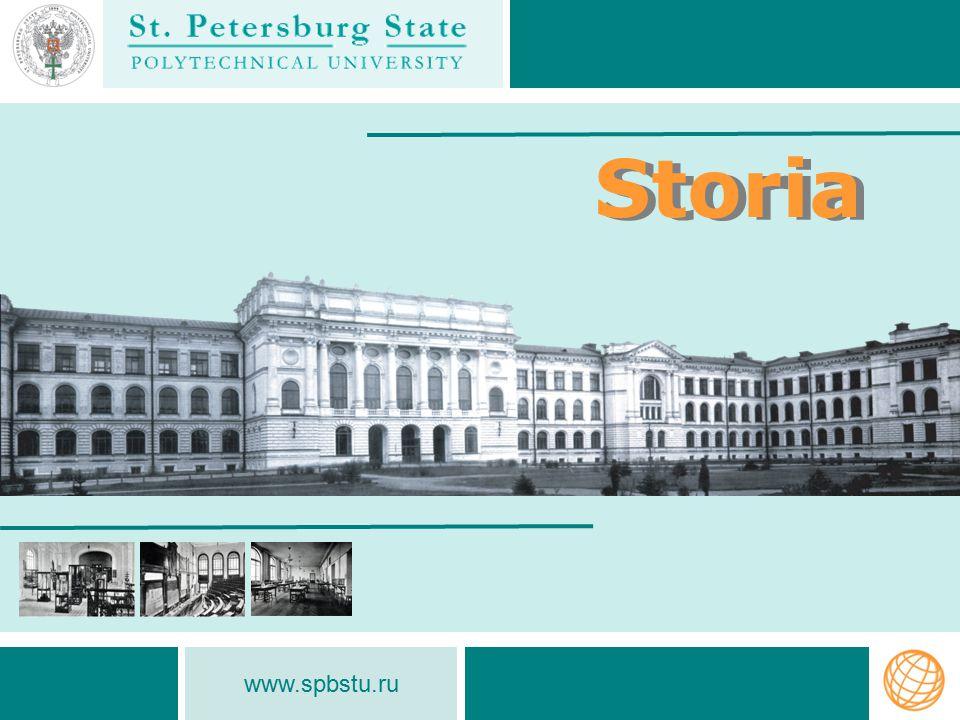 www.spbstu.ru Storia