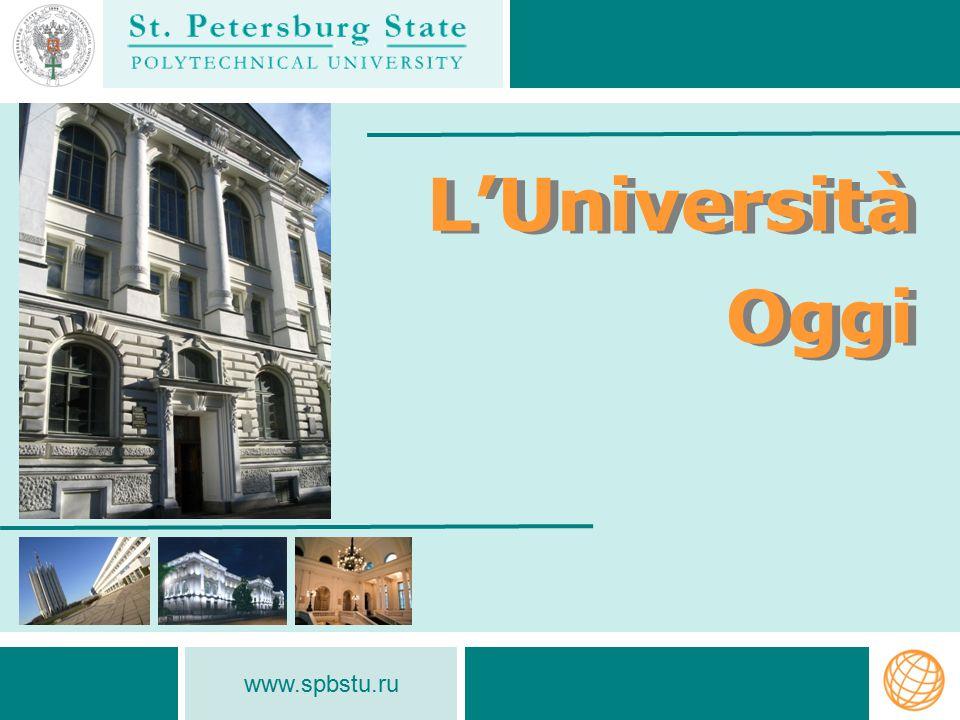 www.spbstu.ru Numero di studenti stranieri (2007 - 2012) Numero di studenti stranieri (2007 - 2012) ATTIVITÀ INTERNAZIONALE