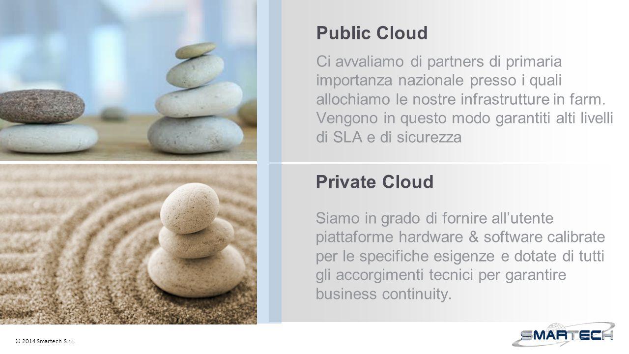 Public Cloud Ci avvaliamo di partners di primaria importanza nazionale presso i quali allochiamo le nostre infrastrutture in farm.