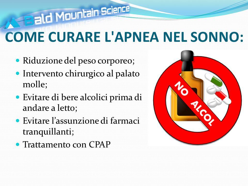 COS È LA CPAP.La CPAP è una terapia usata per curare l'apnea notturna.