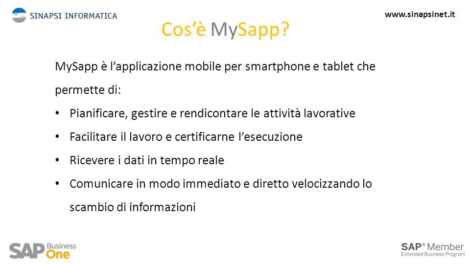 Cos'è MySapp.