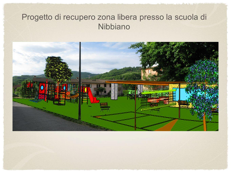 popopopo Progetto di recupero zona libera presso la scuola di Nibbiano