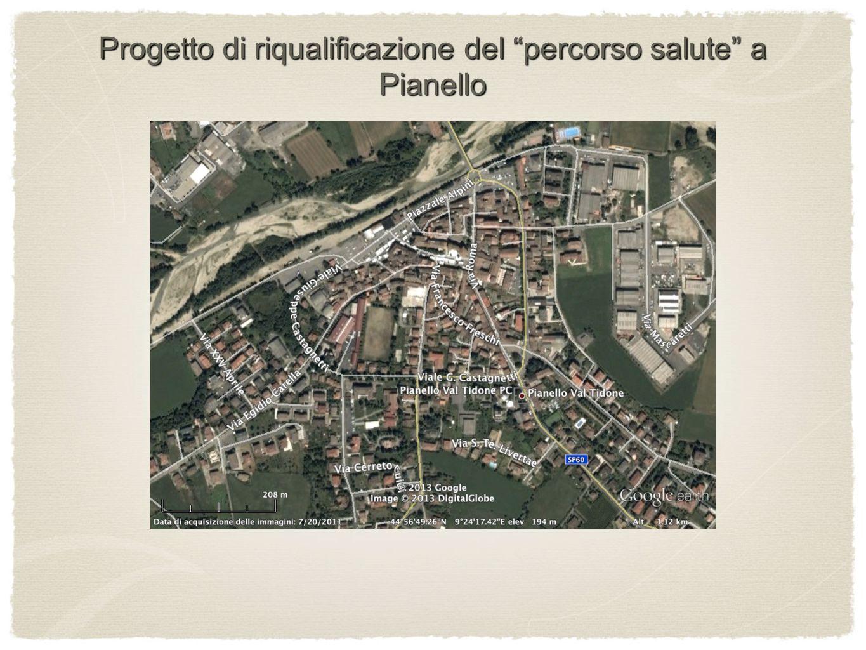 Progetto di riqualificazione del percorso salute a Pianello