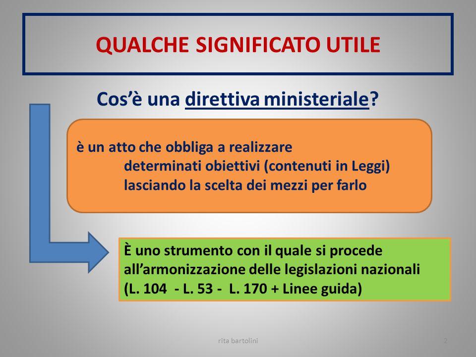 rita bartolini23 METODOLOGIA DIDATTICA REALIZZANO L'INCLUSIONE SCOLASTICA IN RIFERIMENTO ALLA L.