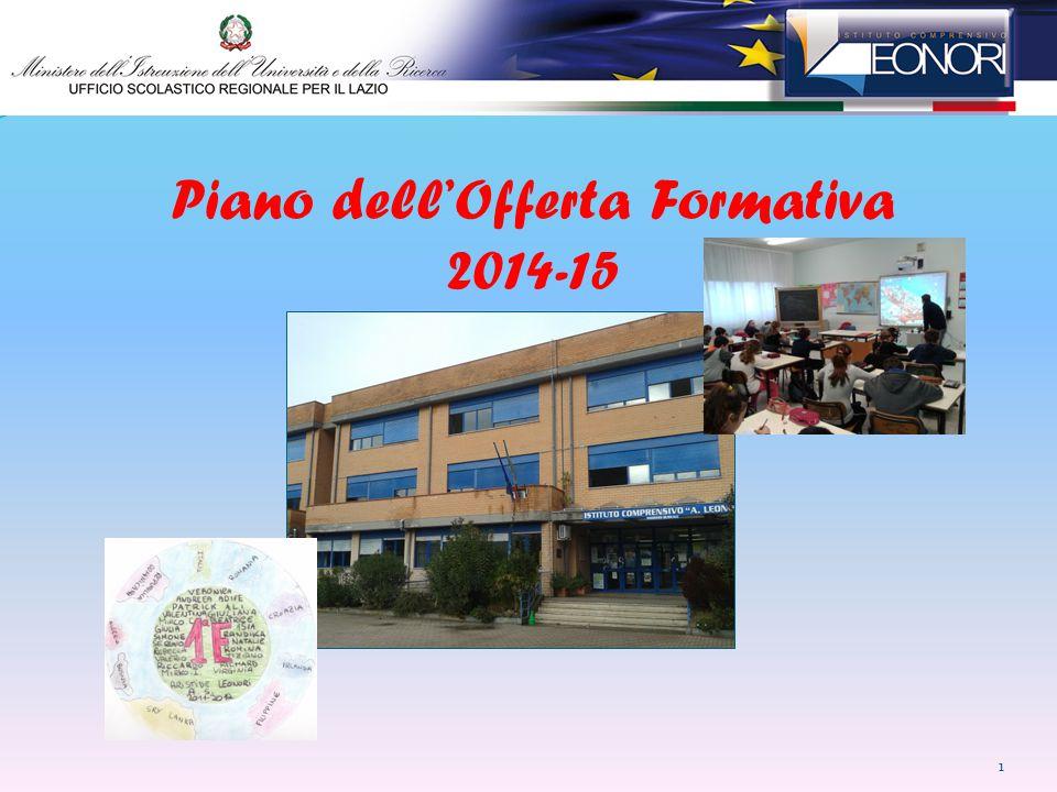 Piano dell'Offerta Formativa 2014-15 1