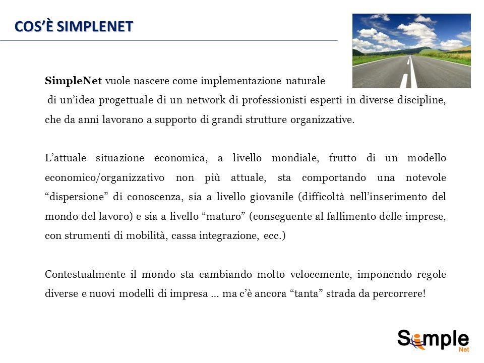 I 10 VALORI DI SIMPLENET 6.