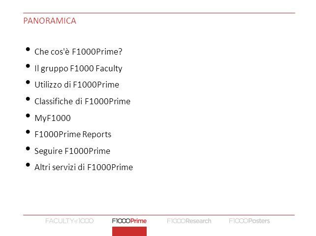 PANORAMICA Che cos è F1000Prime.