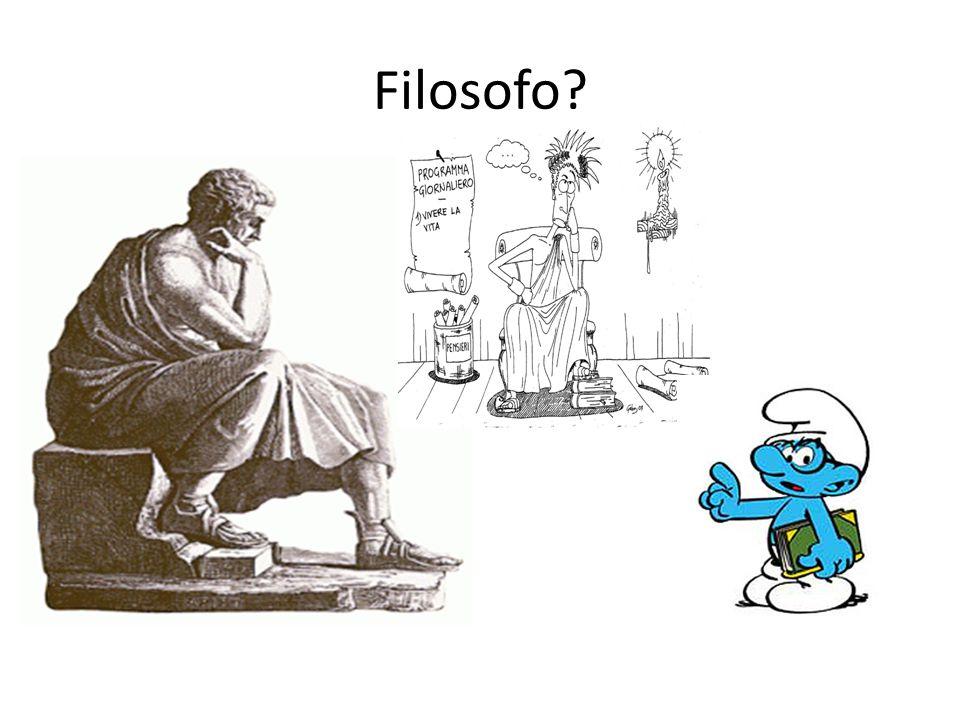 Filosofo?