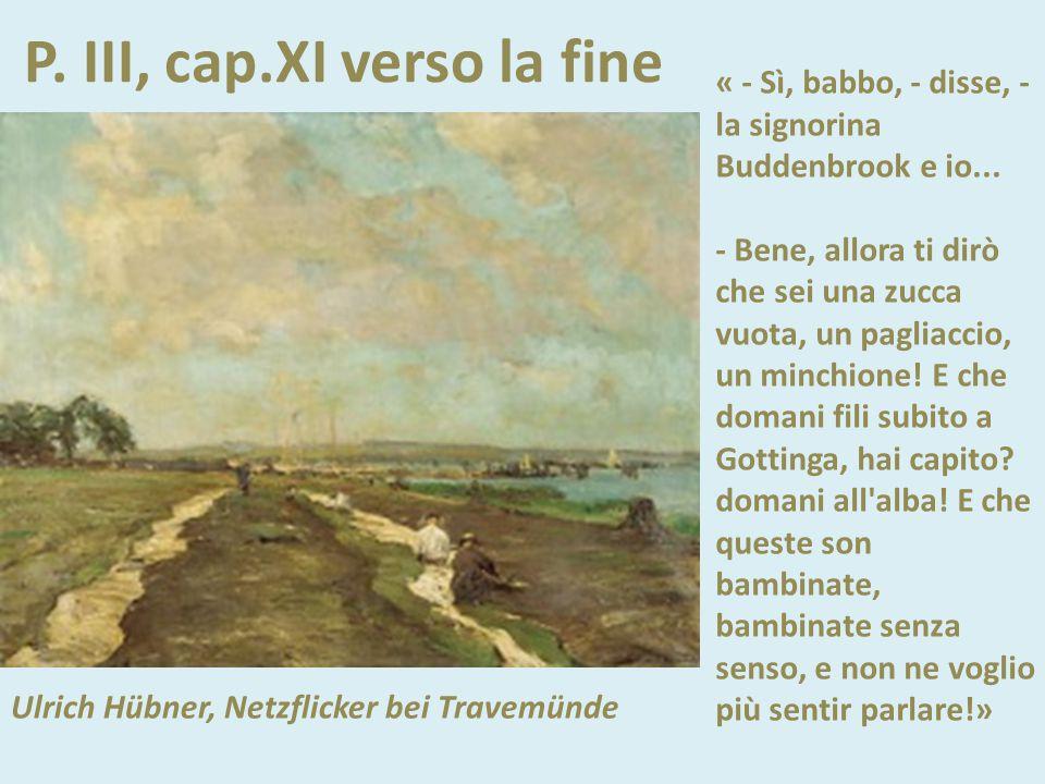 PP. II – III, Lubecca - Travemünde (1838-1846) Ulrich Hübner, Netzflicker bei Travemünde La morte della vecchia Antoinette e del vecchio Johann La dit